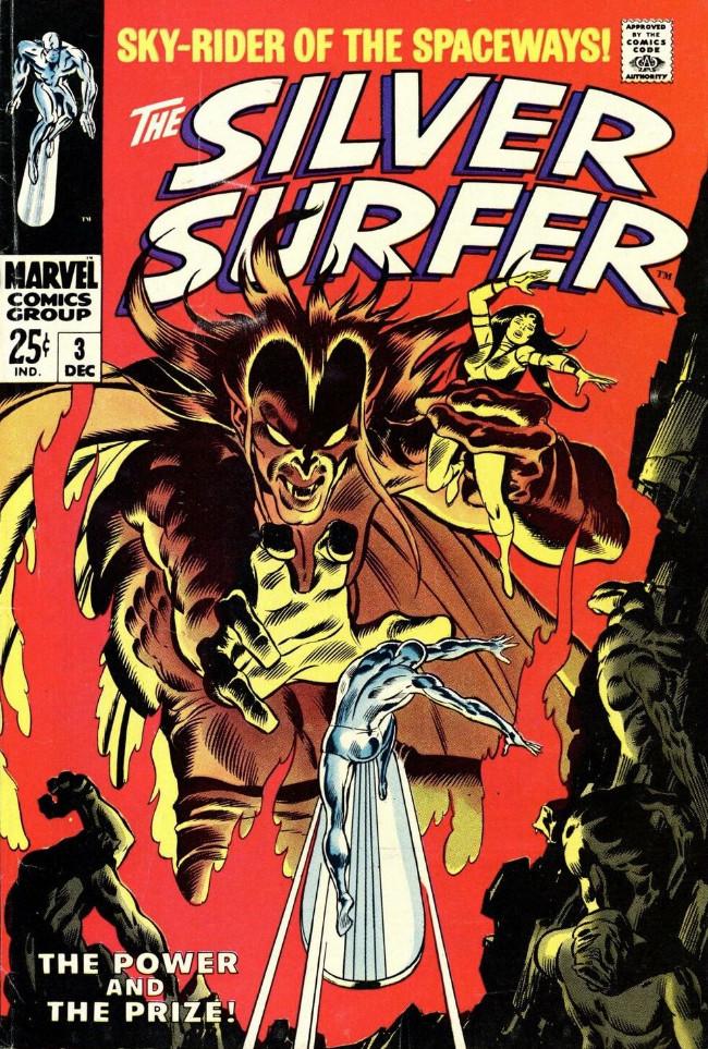 Couverture de Silver Surfer Vol.1 (Marvel comics - 1968) -3- The power and the prize