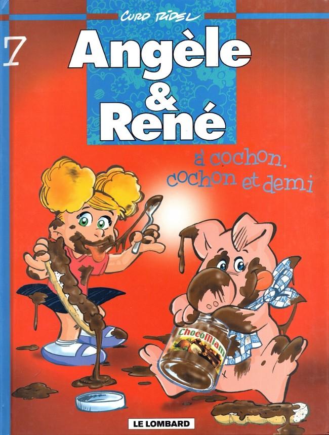 Couverture de Angèle & René -7- À cochon, cochon et demi
