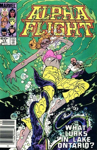 Couverture de Alpha Flight (1983) -14- Biology Class
