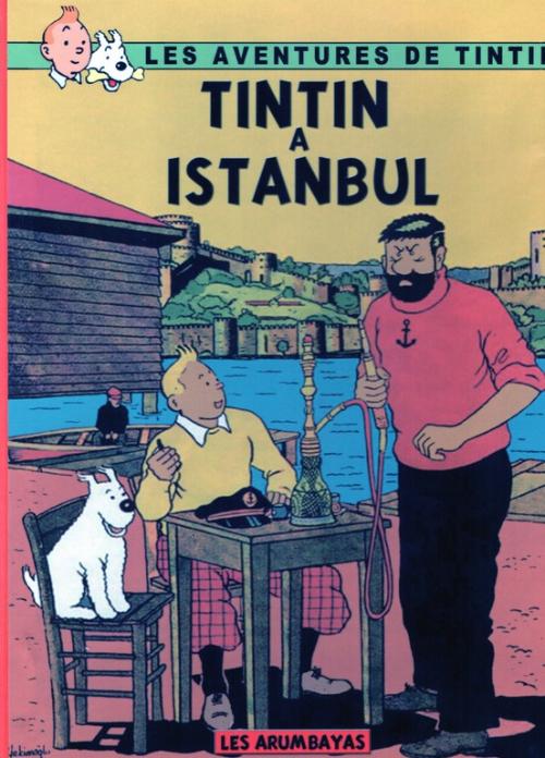 Couverture de Tintin - Pastiches, parodies & pirates - Tintin à Istanbul