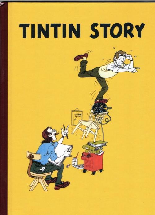Couverture de Tintin - Divers - Tintin Story