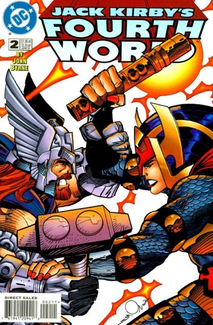 Couverture de Jack Kirby's Fourth World (1997) -2- A clash of titans