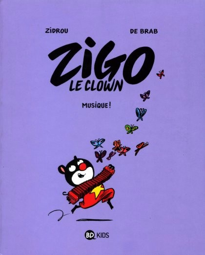 Couverture de Zigo le clown -3- Musique !