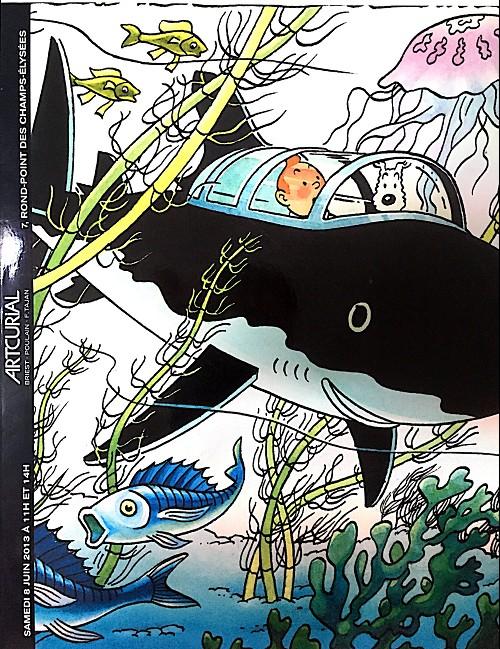 Couverture de (Catalogues) Ventes aux enchères - Artcurial - Artcurial - Tintin - samedi 8 juin 2013 - Paris hôtel Dassault