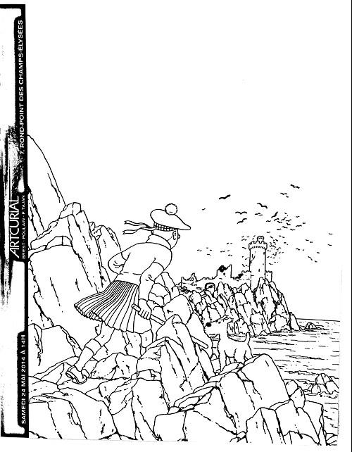 Couverture de (Catalogues) Ventes aux enchères - Artcurial - Artcurial - Tintin - samedi 24 mai 2014 - Paris hôtel Dassault
