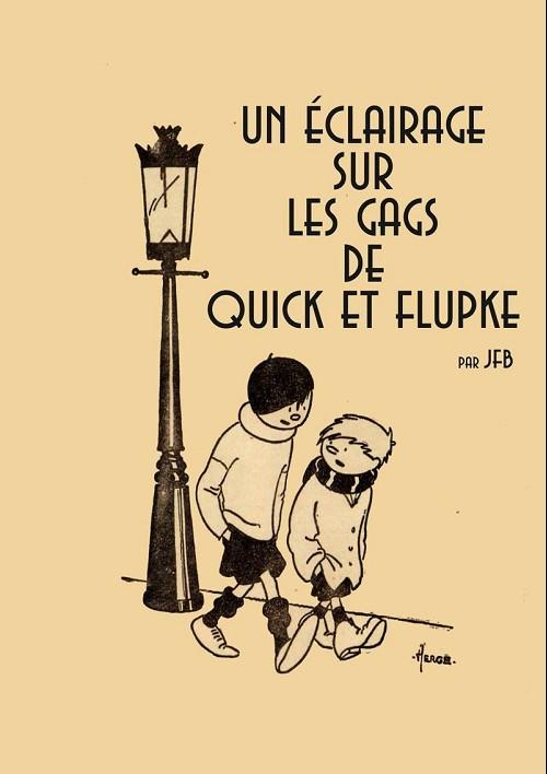 Couverture de (AUT) Hergé - Un éclairage sur les gags de Quick et Flupke