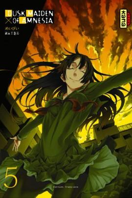 Couverture de Dusk Maiden of Amnesia -5- Volume 5