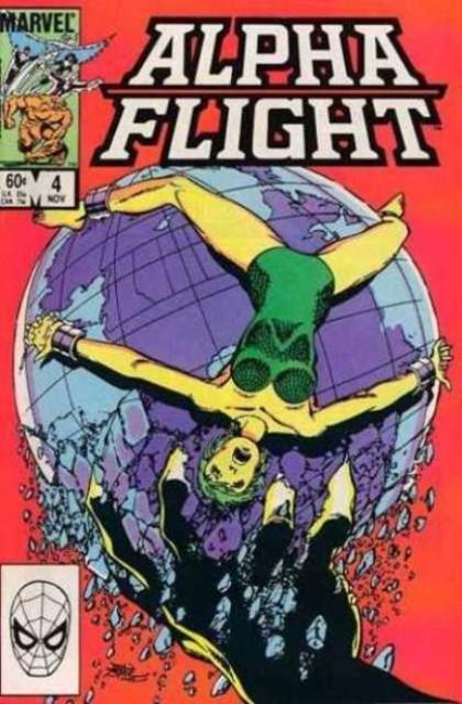 Couverture de Alpha Flight (Marvel comics - 1983) -4- Resolutions!