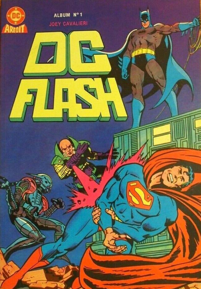 Couverture de DC Flash -Rec01- Album N°1 (du n°1 au n°2)
