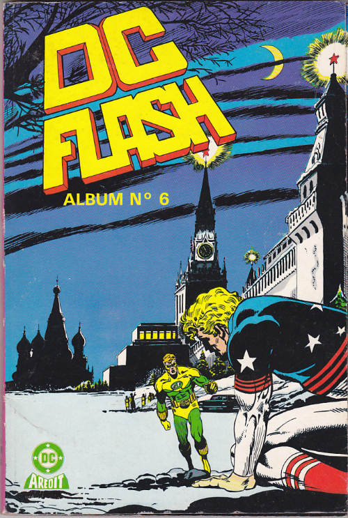 Couverture de DC Flash -Rec06- Album N°6 (du n°11 au n°12)