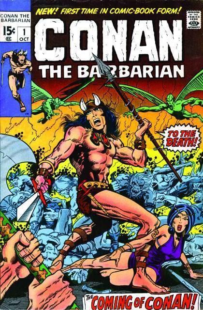 Couverture de Conan the Barbarian Vol 1 (Marvel - 1970) -1- The coming of Conan!