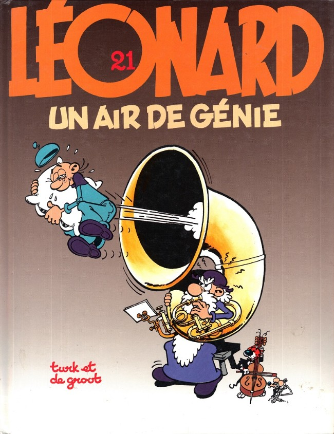 Couverture de Léonard -21- Un air de génie