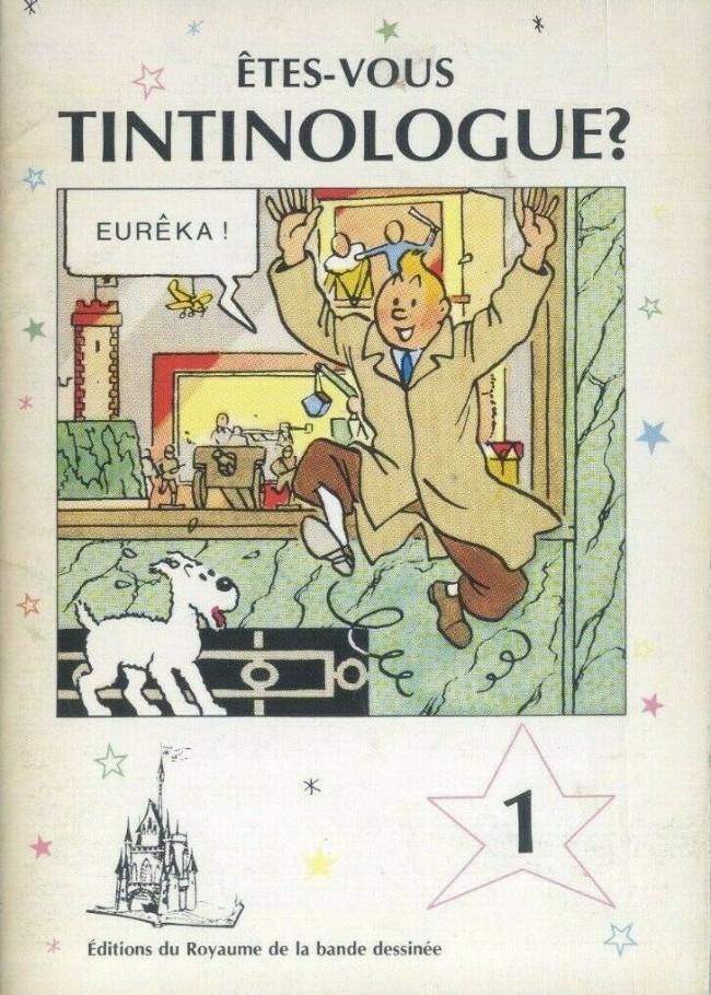 Couverture de Tintin - Divers -40- Êtes-vous tintinologue ? (1)