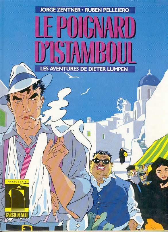 Couverture de Dieter Lumpen (Les Aventures de) -1- Le Poignard d'Istamboul