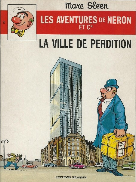 Couverture de Néron et Cie (Les Aventures de) (Érasme) -93- La ville de perdition