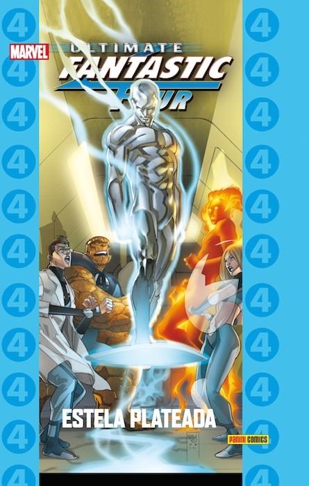 Couverture de Ultimate - Coleccionable Ultimate -74- Ultimate Fantastic Four 8: Estela Plateada