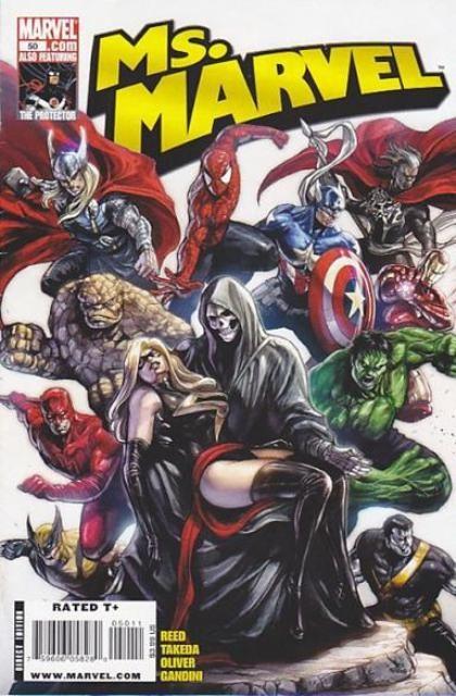 Couverture de Ms. Marvel (2006) -50- Protector