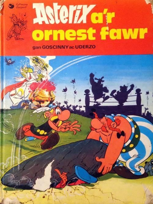Couverture de Astérix (en langues étrangères) -7Gallois- Asterix a'r ornest fawr