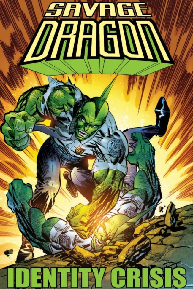 Couverture de Savage Dragon Vol.2 (The) (Image comics - 1993) -INT18- Identity Crisis