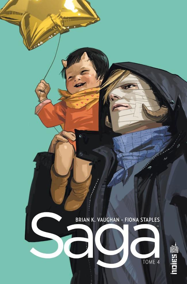 Couverture de Saga (Vaughan/Staples) -4- Tome 4