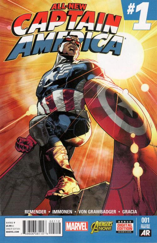 Couverture de All-New Captain America (2015) -1a- All-New Captain America