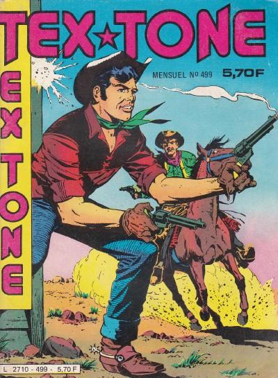 Couverture de Tex-Tone -499- D'un adversaire à l'autre !!