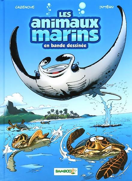 Couverture de Les animaux marins en bande dessinée -3- Tome 3