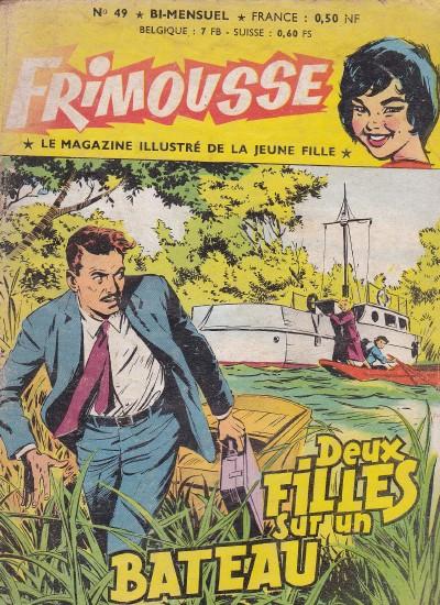 Couverture de Frimousse et Frimousse-Capucine -49- Deux filles sur un bateau