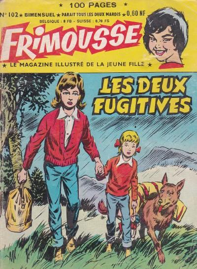 Couverture de Frimousse et Frimousse-Capucine -102- Les deux fugitives
