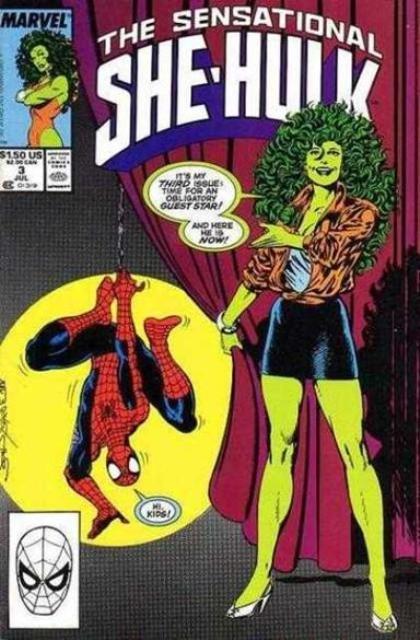 Couverture de Sensational She-Hulk (The) (1989) -3- My Guest-Star... My Enemy