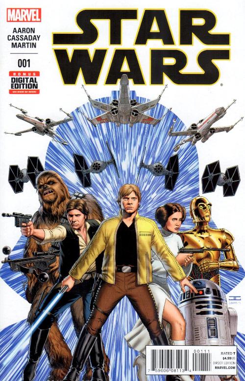 Couverture de Star Wars Vol.2 (Marvel comics - 2015) -1- Book 1 Skywalker Strikes