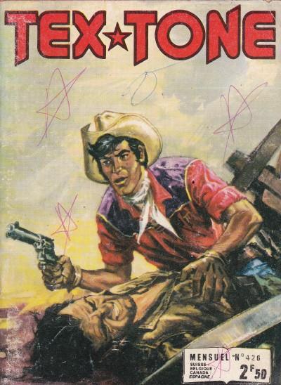 Couverture de Tex-Tone -426- L'U.S. marshall