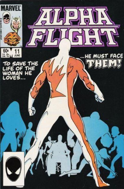Couverture de Alpha Flight (Marvel comics - 1983) -11- Set-up