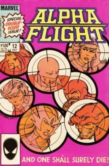 Couverture de Alpha Flight (1983) -12- ... and one shall surely die