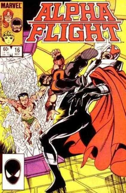 Couverture de Alpha Flight (Marvel comics - 1983) -16- ...and forsaking all others...
