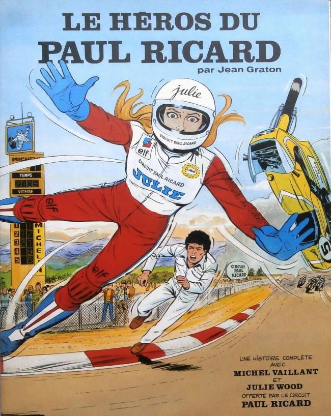 Couverture de Michel Vaillant -02Pub- Le héros du Paul Ricard