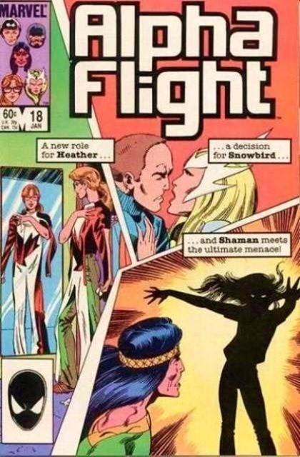 Couverture de Alpha Flight (1983) -18- How long will a man lie in the earth 'ere he rot?