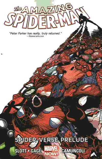 Couverture de Amazing Spider-Man (The) (2014) -INT02- Spider-Verse Prelude