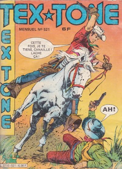 Couverture de Tex-Tone -521- Le butin caché