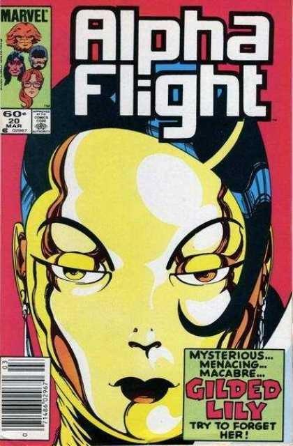 Couverture de Alpha Flight (Marvel comics - 1983) -20- Gold and love affairs!