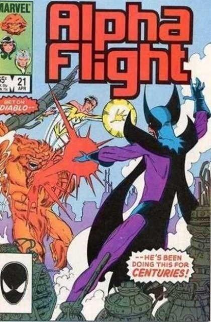 Couverture de Alpha Flight (Marvel comics - 1983) -21- Love wrought new alchemy...