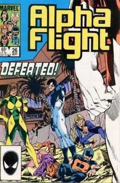 Couverture de Alpha Flight (Marvel comics - 1983) -26- If at first you don't succeed...