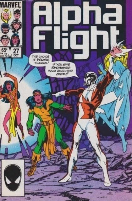 Couverture de Alpha Flight (1983) -27- Betrayal