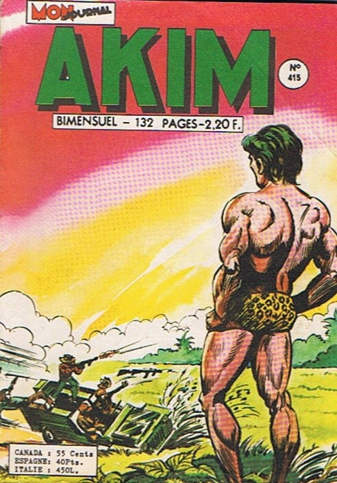 Couverture de Akim (1re série) -415- La nuit du sacrifice