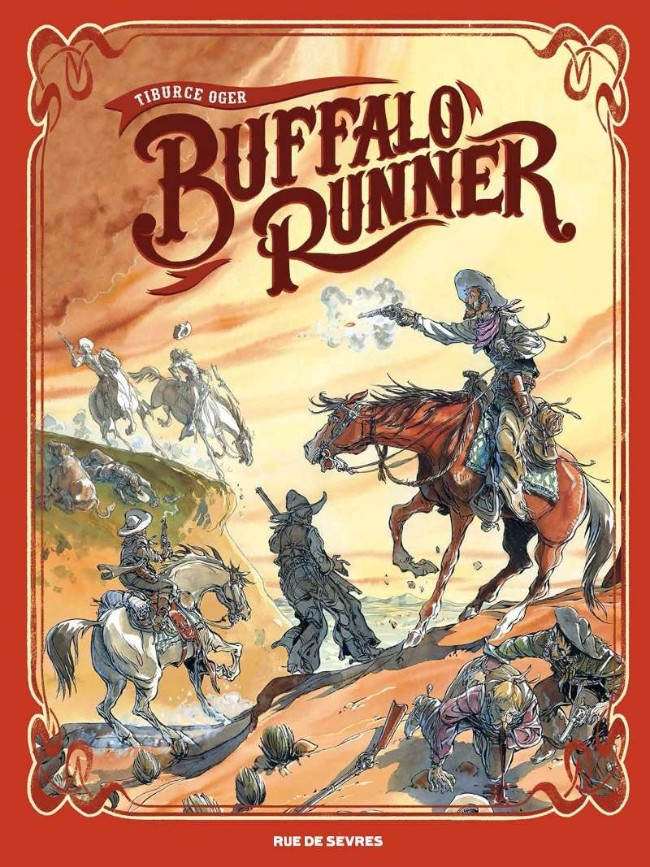 Couverture de Buffalo Runner