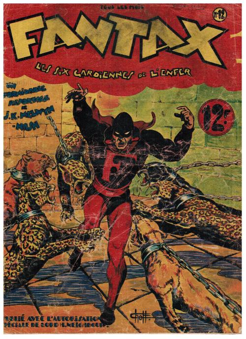 Couverture de Fantax (1re série) -12- Les six gardiennes de l'enfer