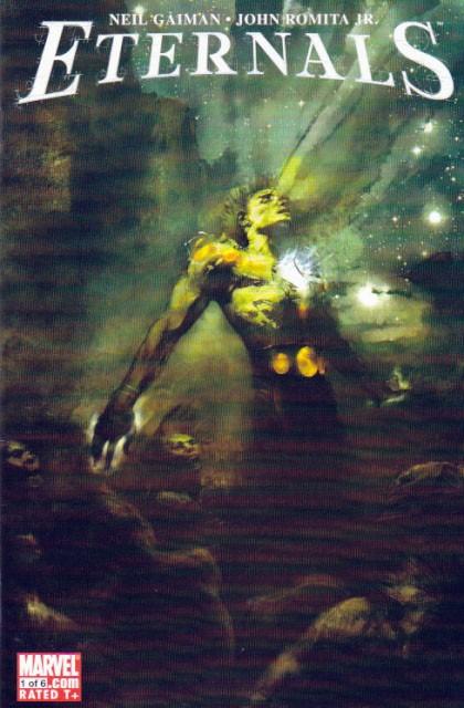 Couverture de Eternals Vol.3 (Marvel comics - 2006) -1- Intelligent Design