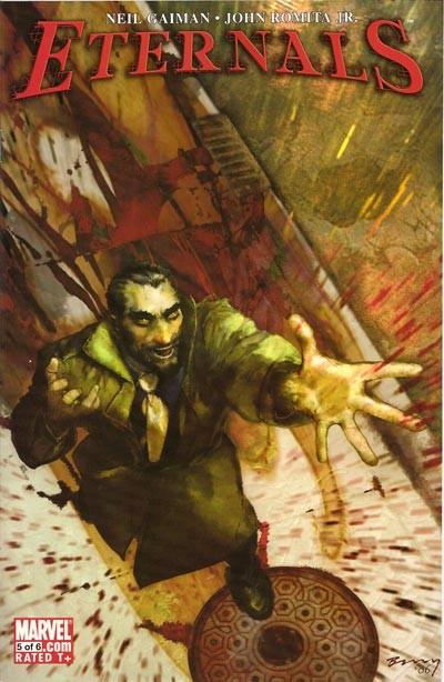 Couverture de Eternals Vol.3 (Marvel comics - 2006) -5- Right to life