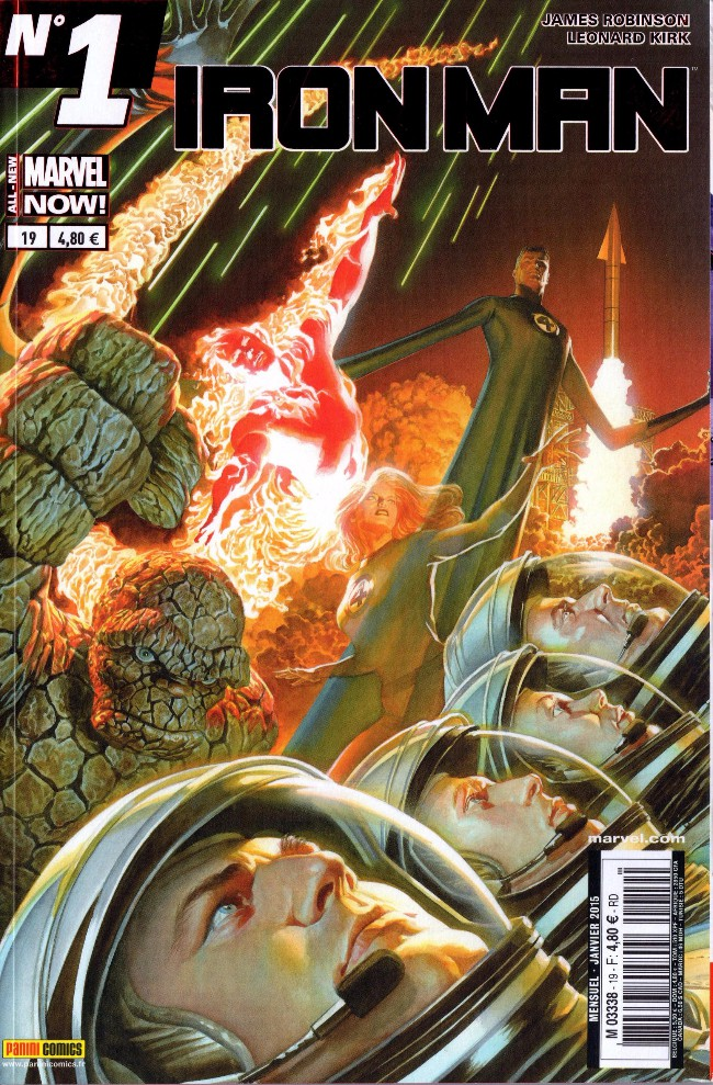 Couverture de Iron Man (Marvel France - 2013) -19- Les anneaux du mandarin