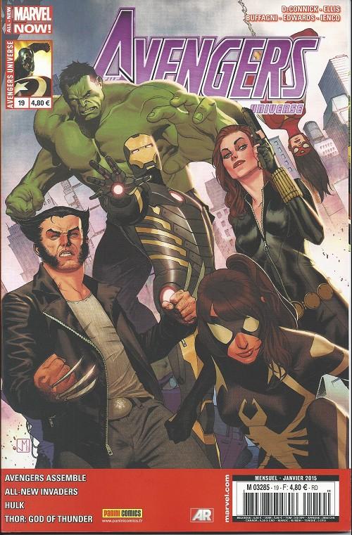 Couverture de Avengers Universe (1re série - 2013) -19- Les inventions de la jalousie